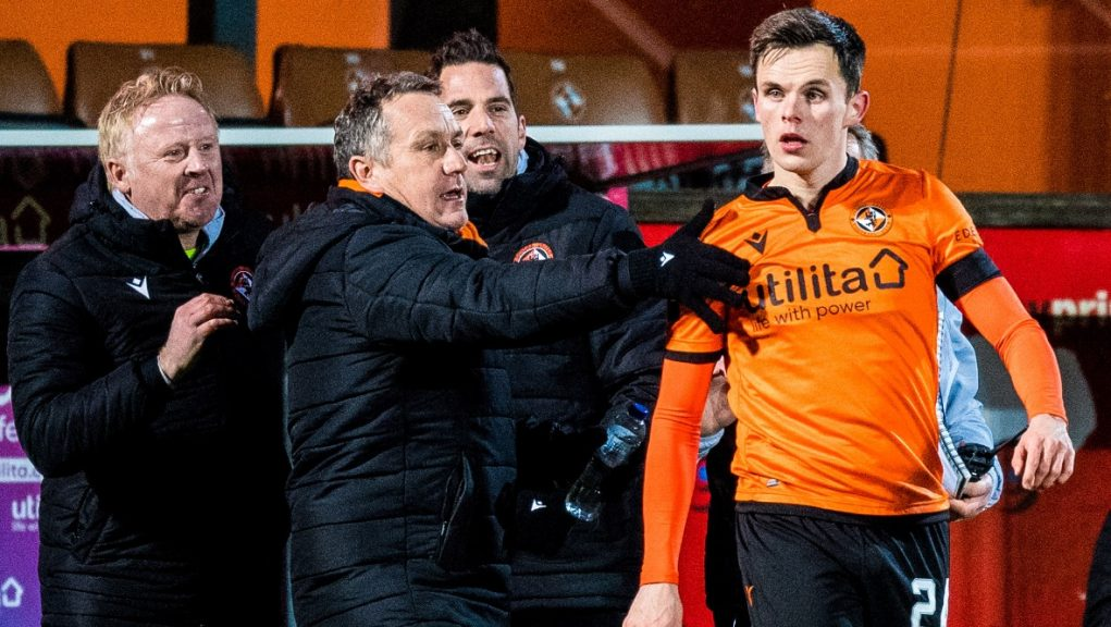 Shankland's goal earned Dundee United a point against St Johnstone.