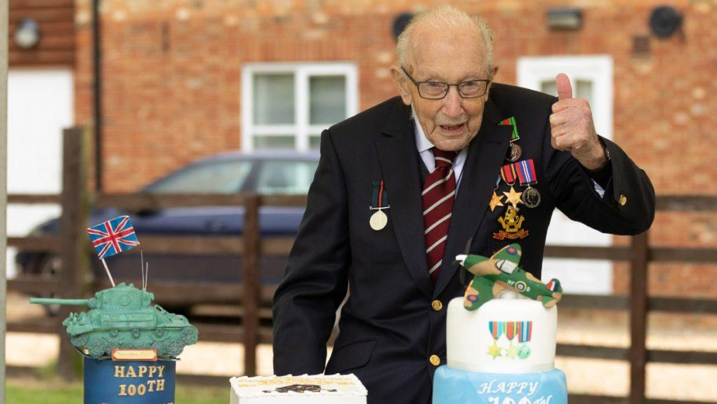 Fundraiser: Captain Sir Tom Moore has died at the age of 100.