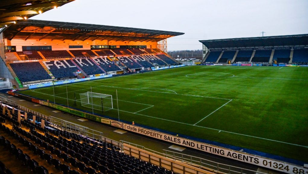 Falkirk's league campaign has been suspended due to coronavirus.
