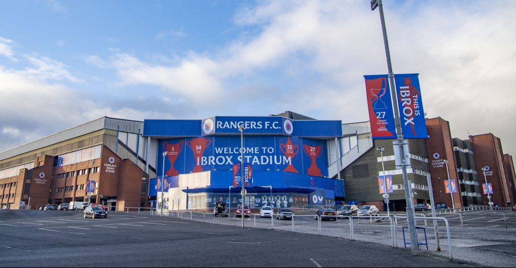 Rangers will lift the Premiership trophy on Saturday at Ibrox.