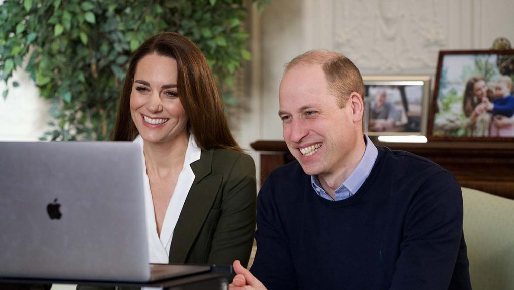 Duke and Duchess of Cambridge spoke to clinically vulnerable women who have been shielding.