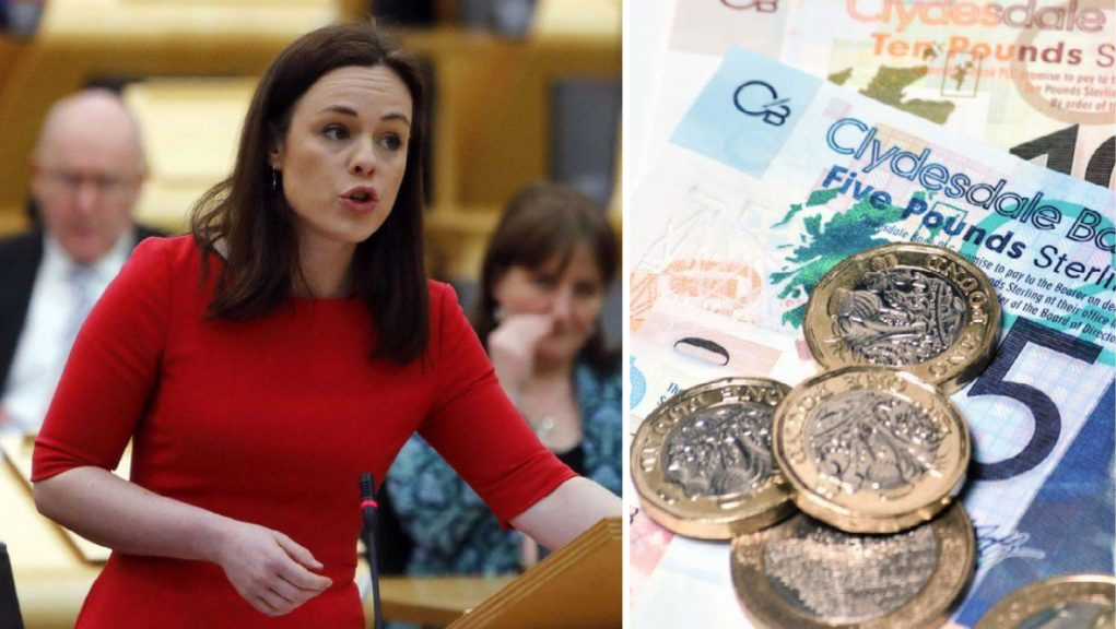 Kate Forbes' budget plan will be voted on by MSPs in the Scottish Parliament.