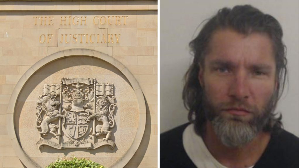 Lukas Pokorny appeared at the High Court in Glasgow.