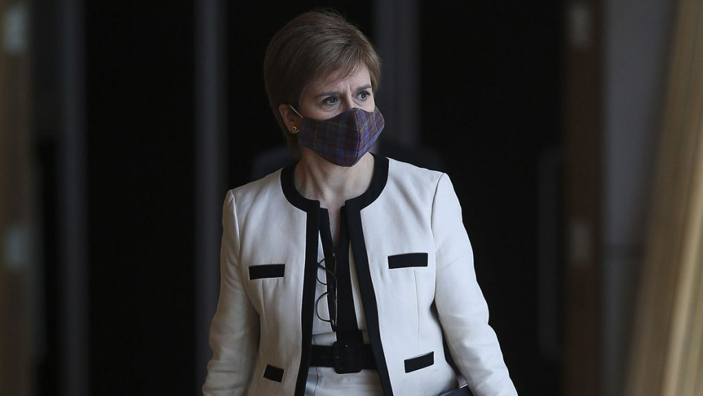 Gove was condemned by Sturgeon for refusing