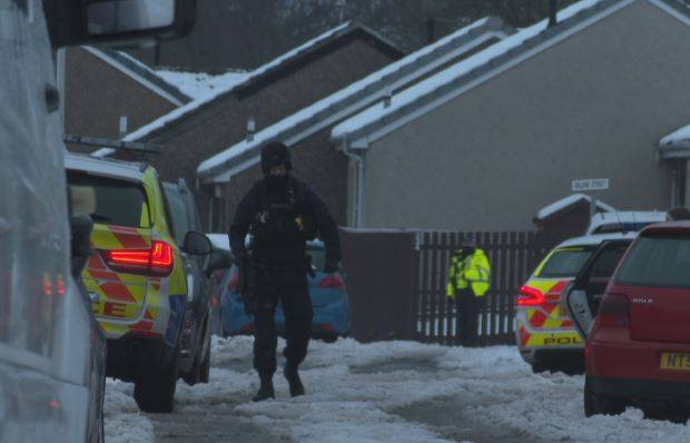 Suspicious death: A 46-year-old man has been arrested.