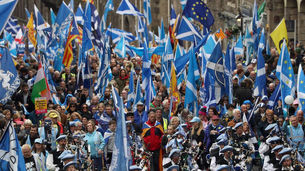 A series of independence rallies have been held since the 2014 vote.