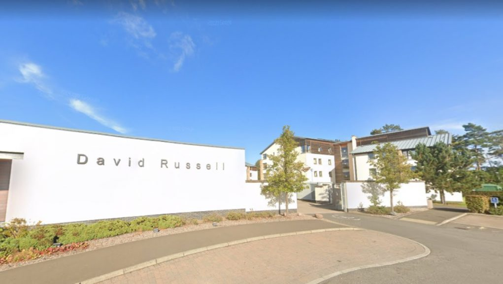 Dozens of students are said to have attended the illegal gathering at the University of St Andrews' David Russell Apartments.