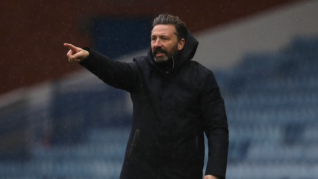 Derek McInnes has held talks with the Aberdeen chairman.