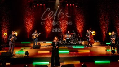 Undated handout photo of the Karen Matheson Band performing at the Glasgow Royal Concert Hall in Glasgow during the first virtual Celtic Connections. The music festival, which was shown online, sold an unprecedented number of tickets this year. Issue date: Wednesday February 3, 2021.