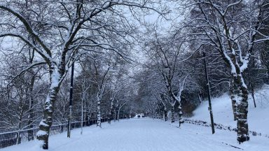 Glasgow, snow picture by Kevin Scott.