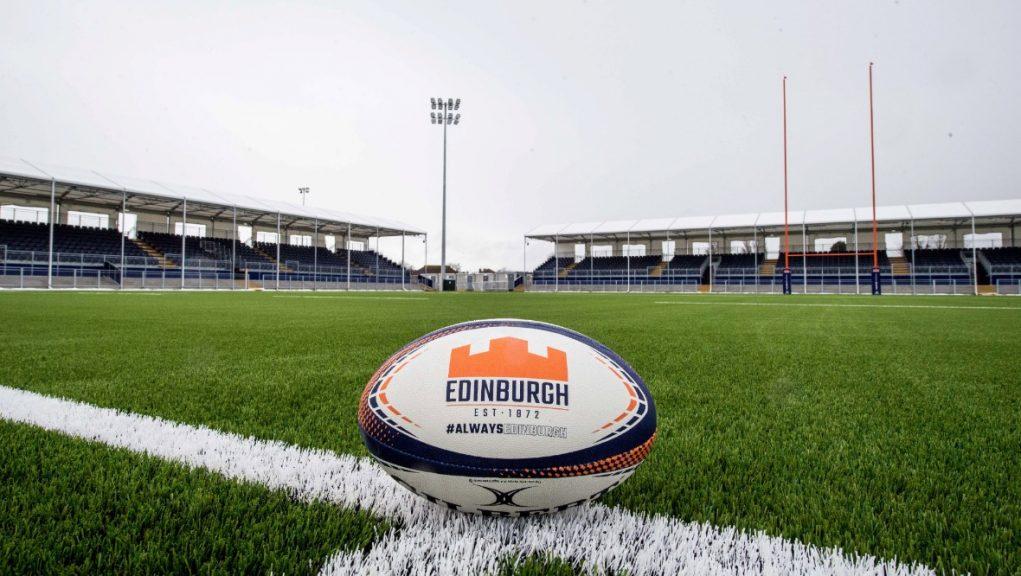 Stadium: Work completed on Edinburgh Rugby ground.