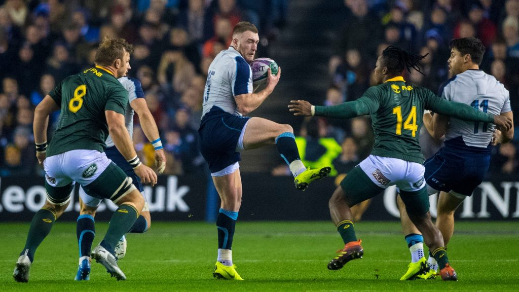 Test: Stuart Hogg's Scotland are set for a tough challenge at the tournament in France.