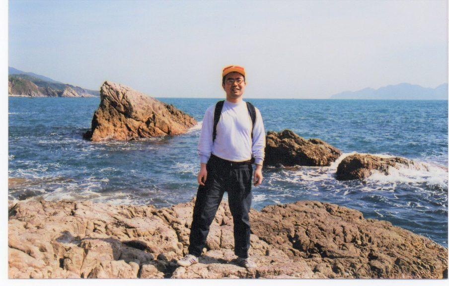 Matt Freeman, originally from China, has lived in Moray for eight years.