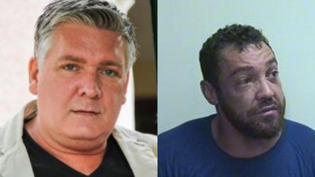 Alan Geddes (left) was murdered by Stuart Quinn inside his home in Aberdeen in 2019.