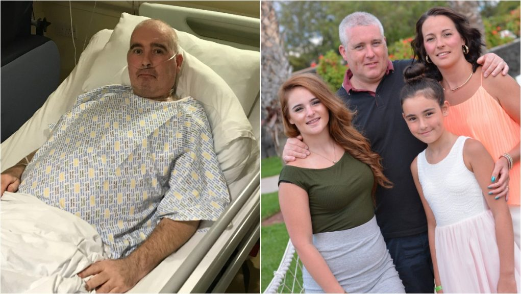 Brian Fernie is recovering in hospital after spending 61 days in a coma.