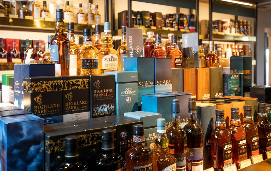 Exports of Scotch whisky are at their lowest levels in a decade, according to industry figures.