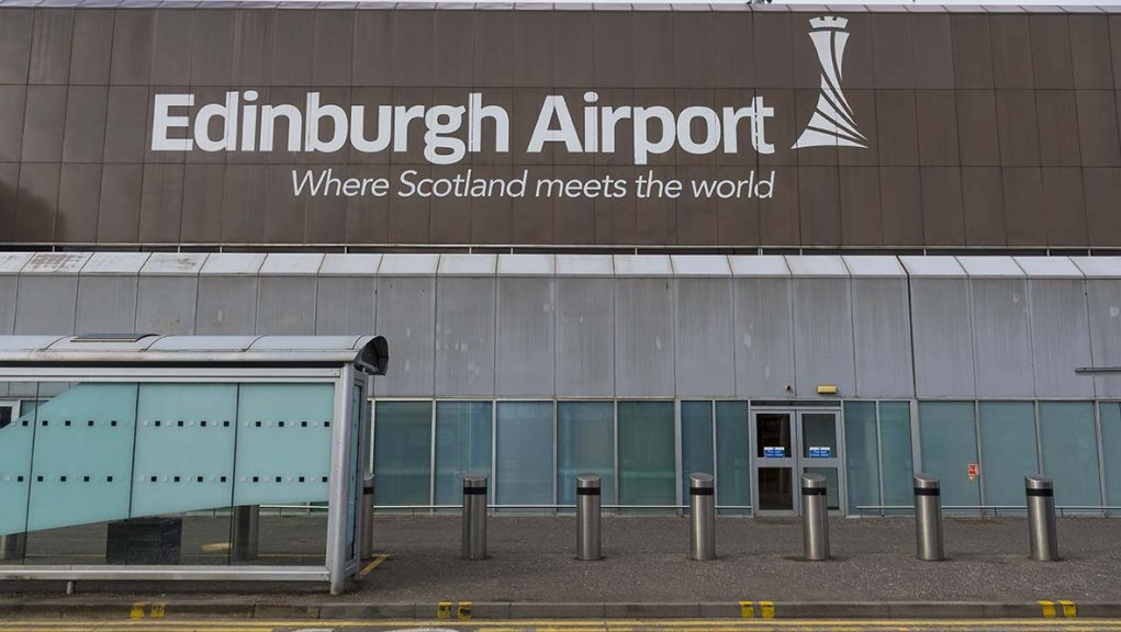 Pre-departure rapid Covid-19 testing will be trialled at Edinburgh Airport.