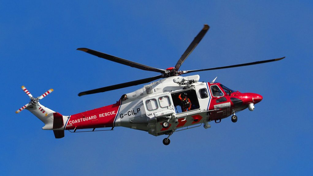 Woman was airlifted to the Royal Infirmary of Edinburgh.