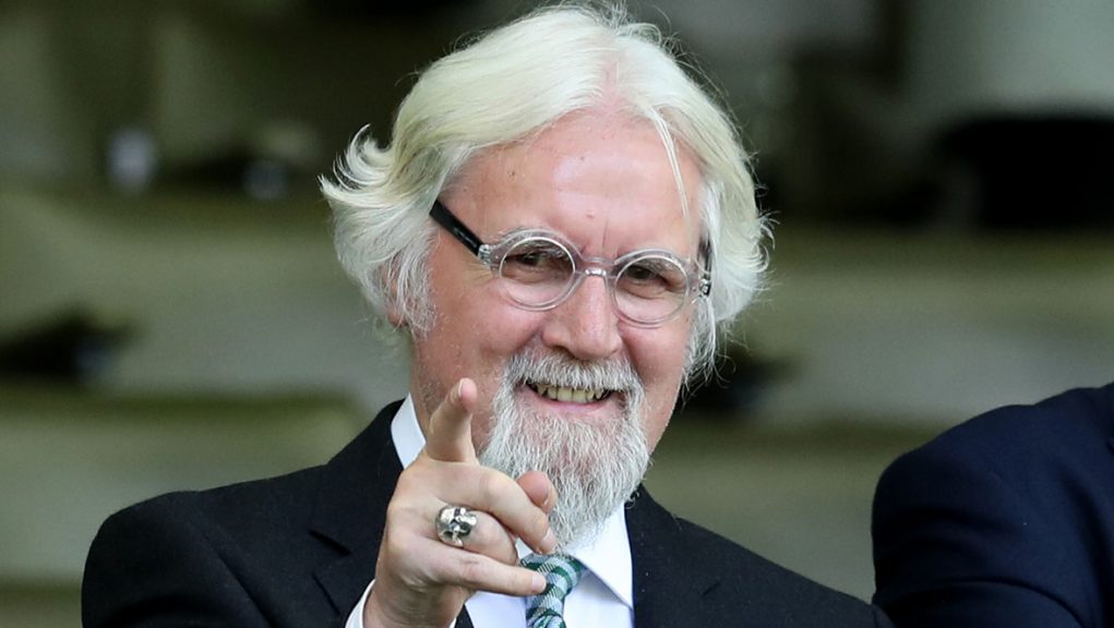 Sir Billy Connolly has received his second dose of vaccine.