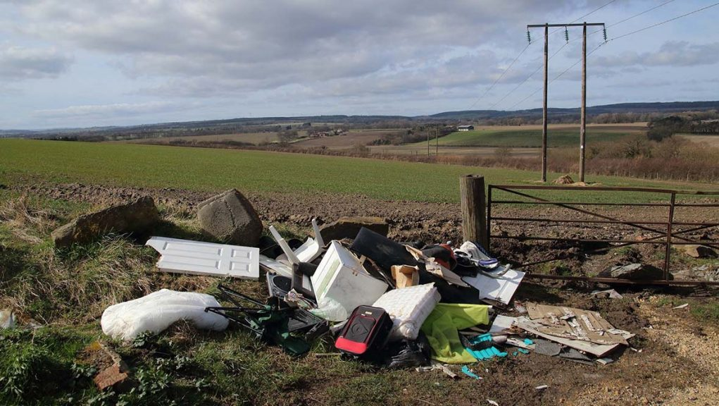 More than 125,000 reports of fly-tipping were made to Scottish councils in the past two years.