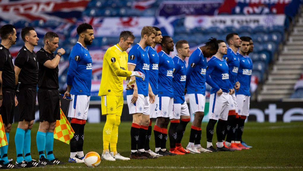 Rangers are eyeing a place in the quarter-finals.