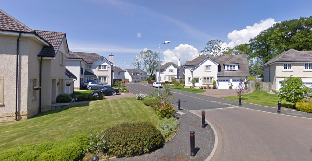 Police in Lanarkshire are appealing for information following a robbery in Grayston Manor, Chryston.