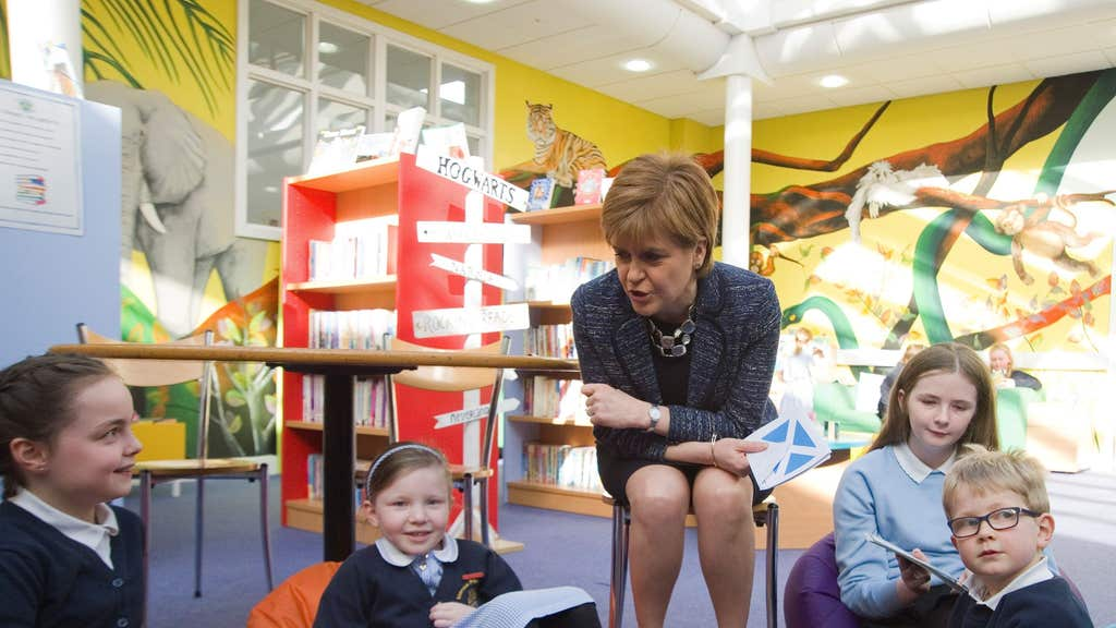 Nicola Sturgeon said getting pupils back to school is the Government's top priority.