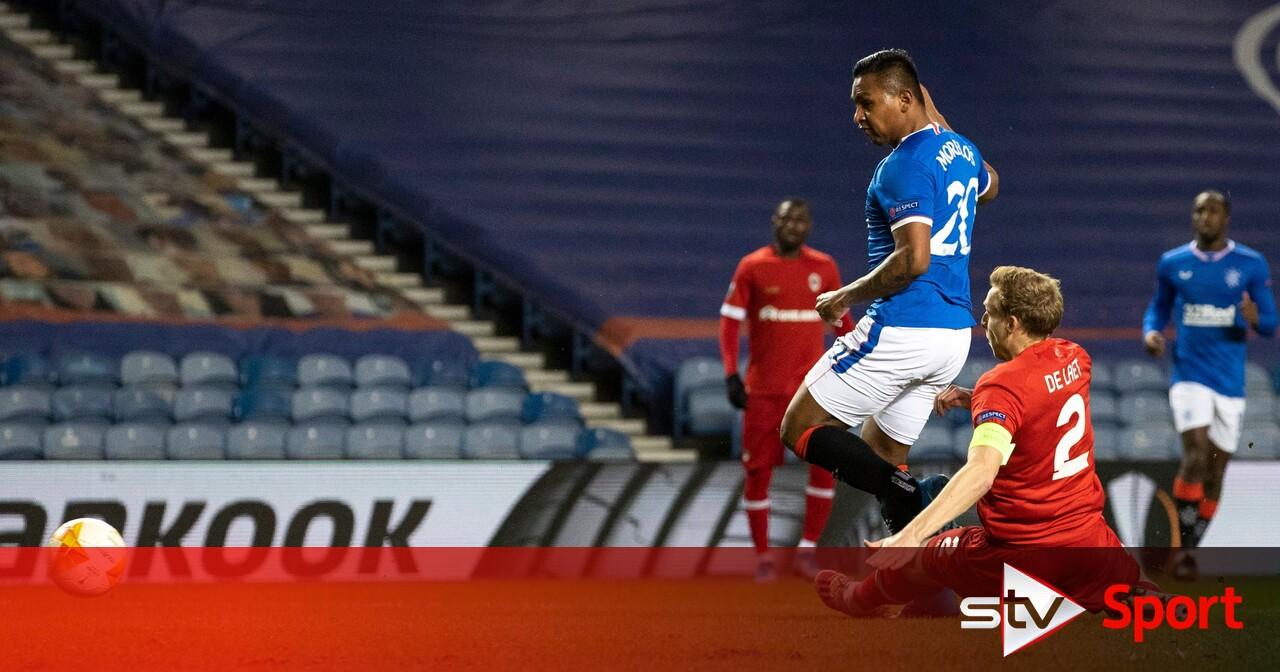 Rangers 5-2 Royal Antwerp: Hosts power into Europa League last 16