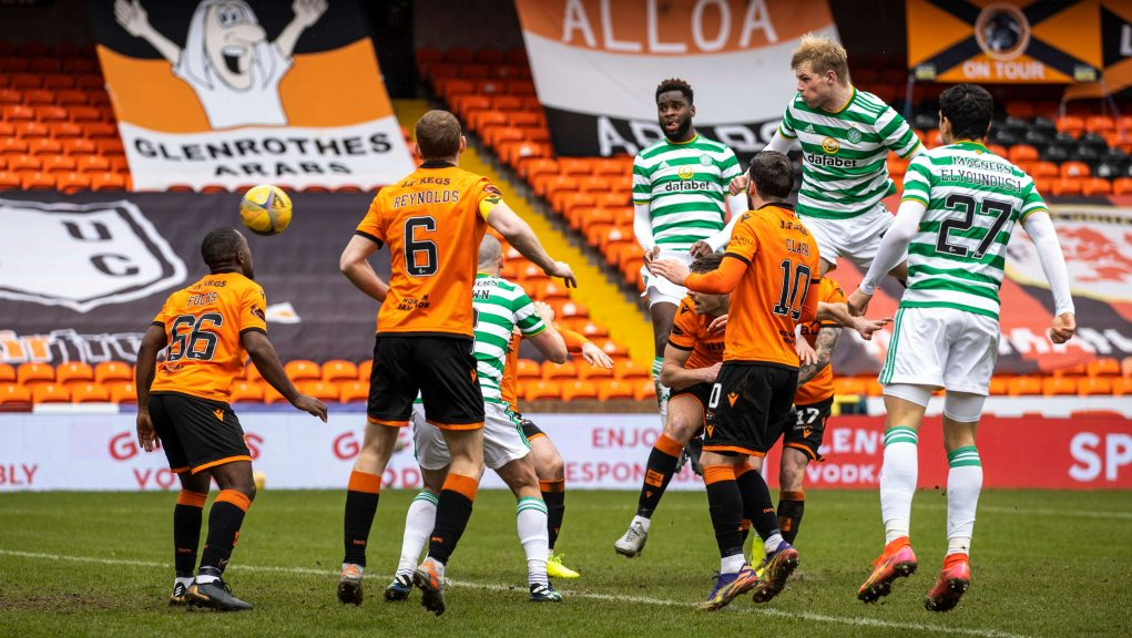 Celtic created a barrow-load of chances but failed to score.