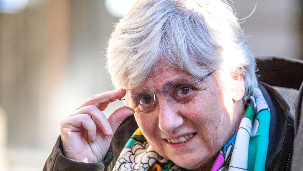 Clara Ponsati faces a charge of sedition.