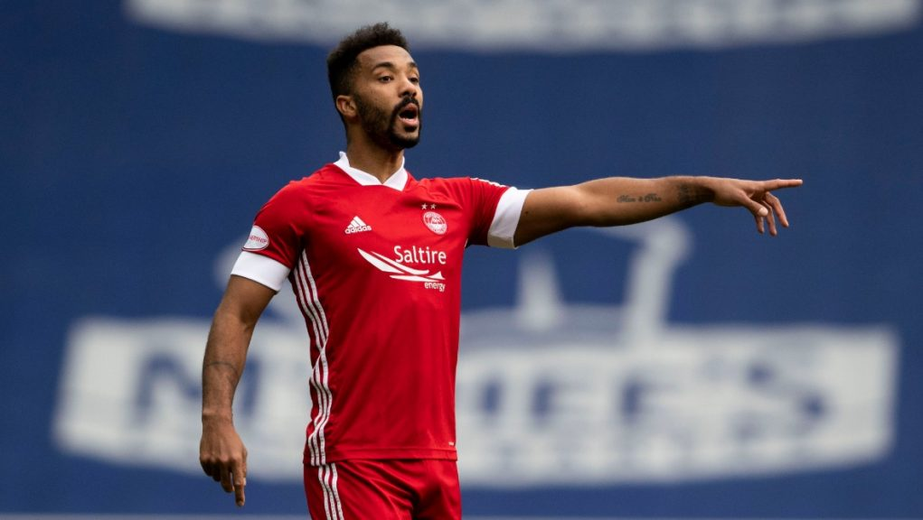 Shay Logan has moved to Championship leaders Hearts.