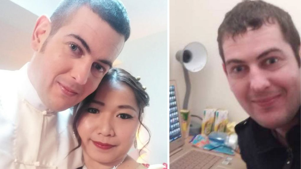 Ramsay Urquhart's family alerted police after he failed to answer phone calls from his wife, Pan Ei Phyu.