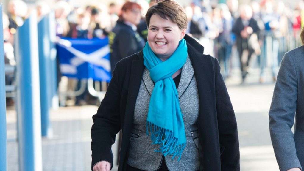 Ruth Davidson will be introduced to the House of Lords.