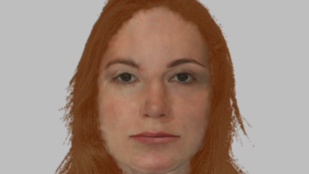 Police have released a composite image of the unidentified woman.