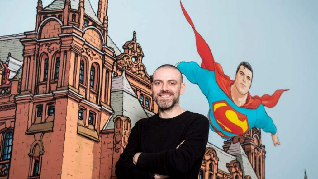 Frank Quitely: Comic book artist Vincent Deighan.