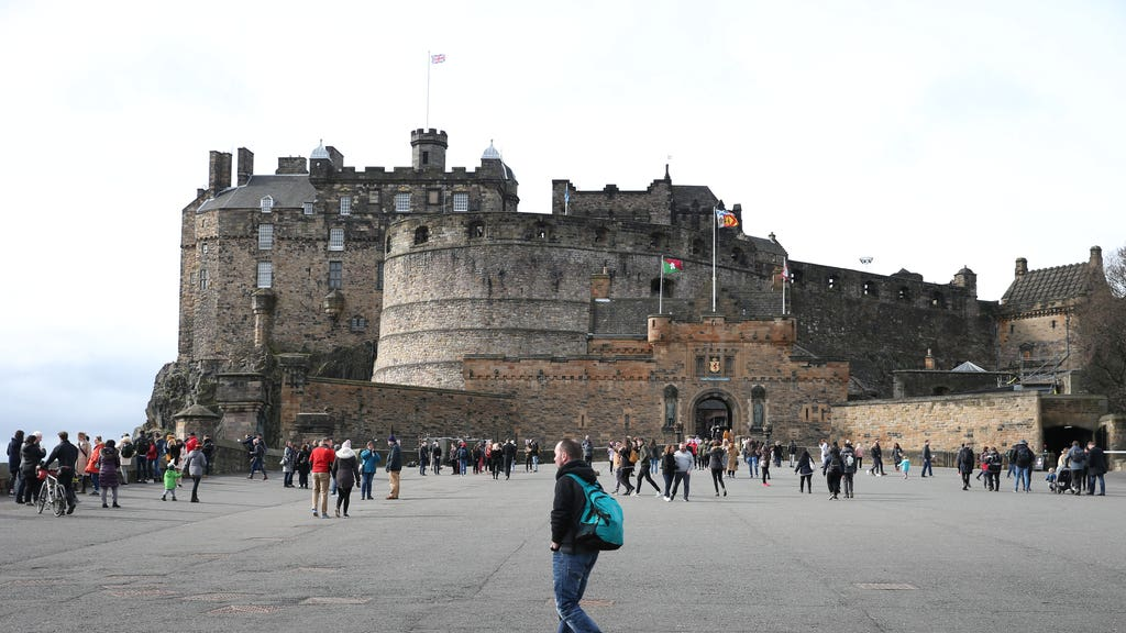 Edinburgh Castle will reopen to visitors from the end of April.
