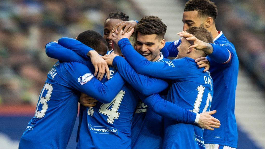 Win: Rangers beat St Mirren 3-0.