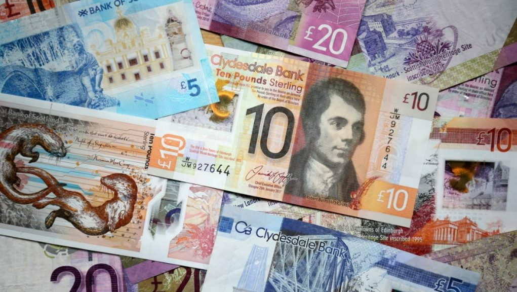 Scotland's economy grew last month for the first time since September