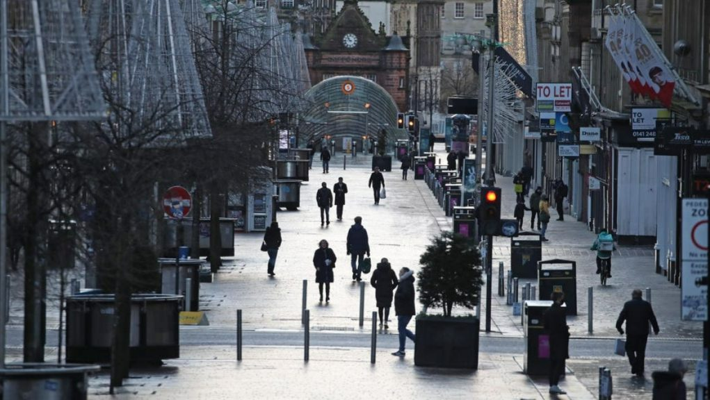 Survey: The Bank of Scotland Business Barometer questions firms each month.