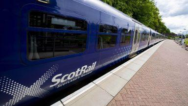 A ScotRail train