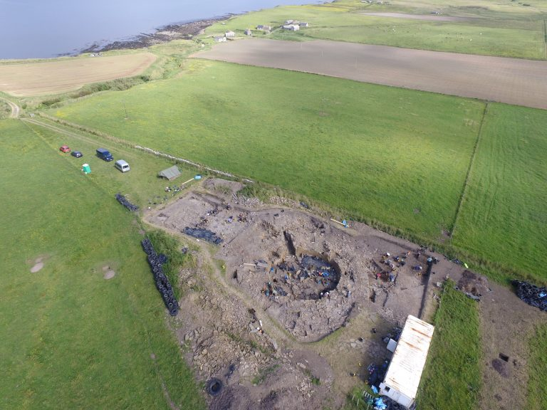 Iron Age find: Massive pit containing nearly 20,000 bits of shellfish.