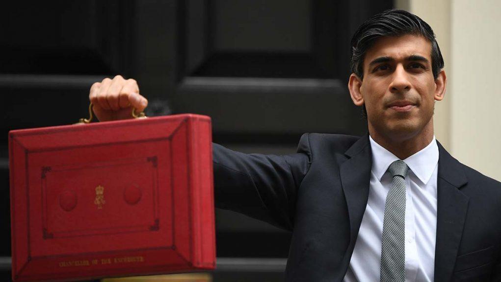 Rishi Sunak outlined plans to rebuild UK economy from damage caused by coronavirus pandemic.