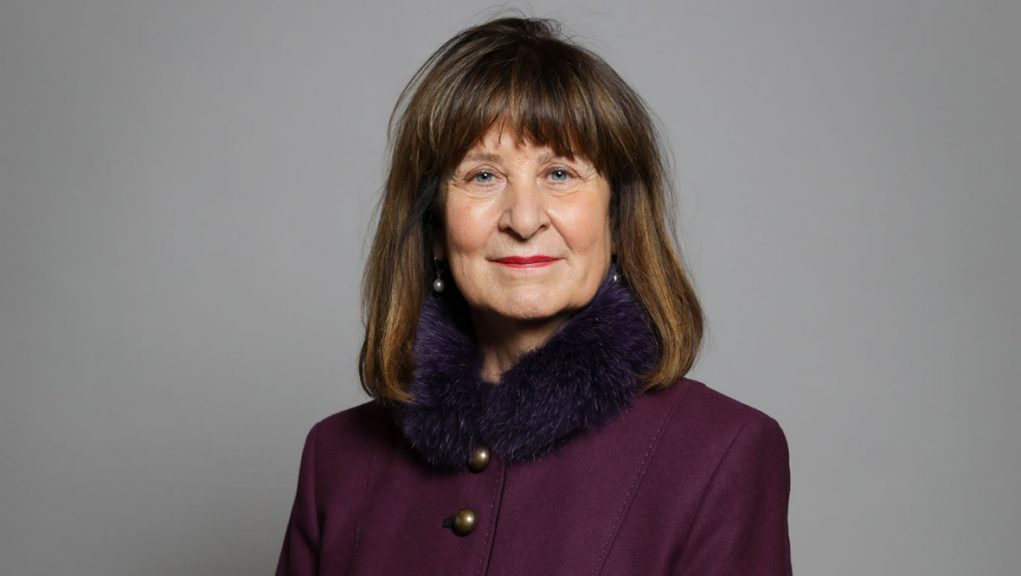 Baroness Helena Kennedy has been sanctioned by China.