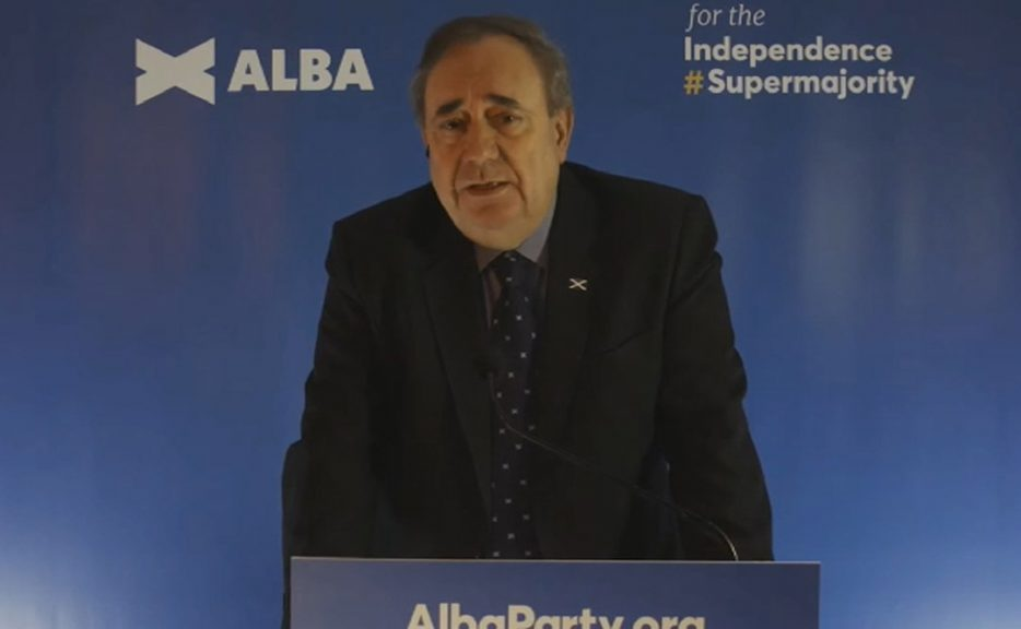 Former Scottish first minister Alex Salmond launches pro-independence party