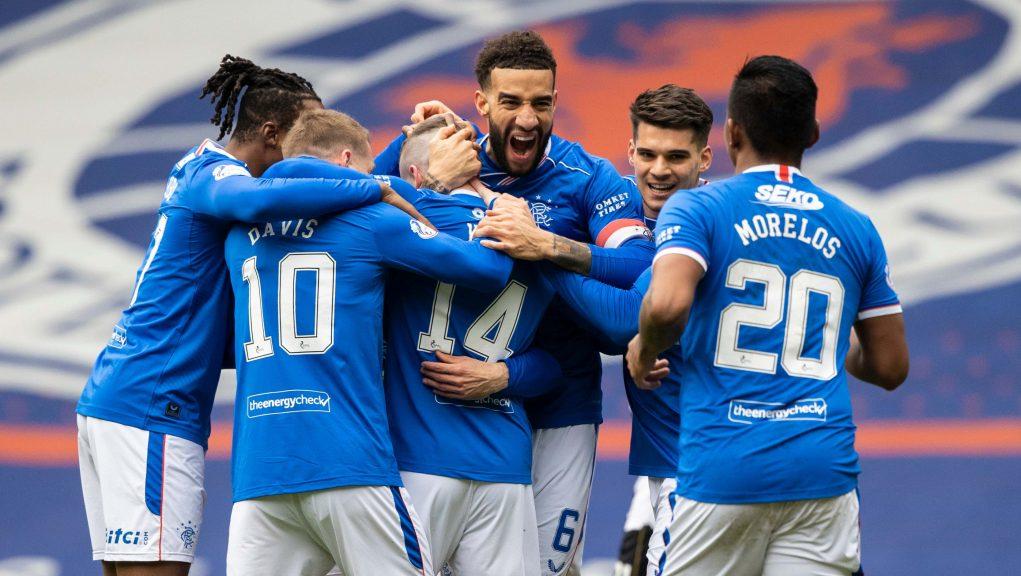 Rangers have won the league title.