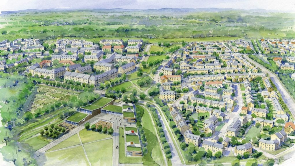 Drumshoreland Garden Community: Plans have been lodged for the multi-million pound development.