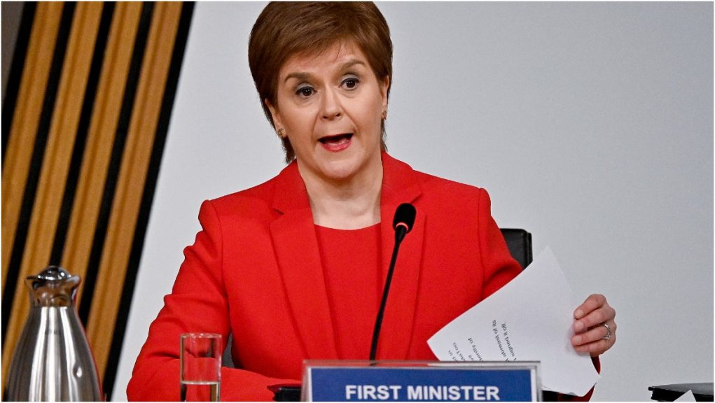 Nicola Sturgeon appeared before the committee on Wednesday.