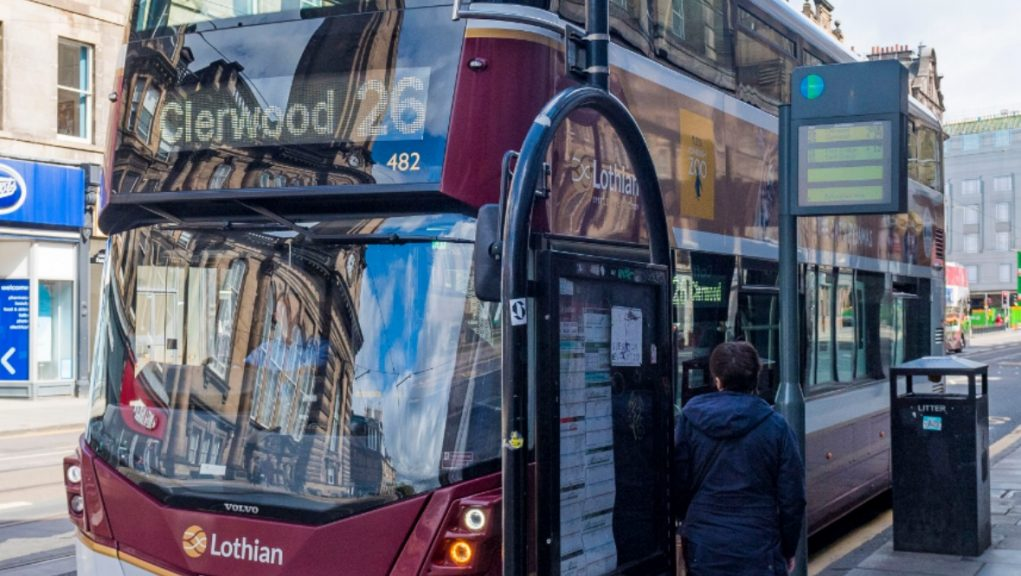 Lothian Buses confirmed services including the number 26 would return to Clermiston as scheduled with an increased police prescence.