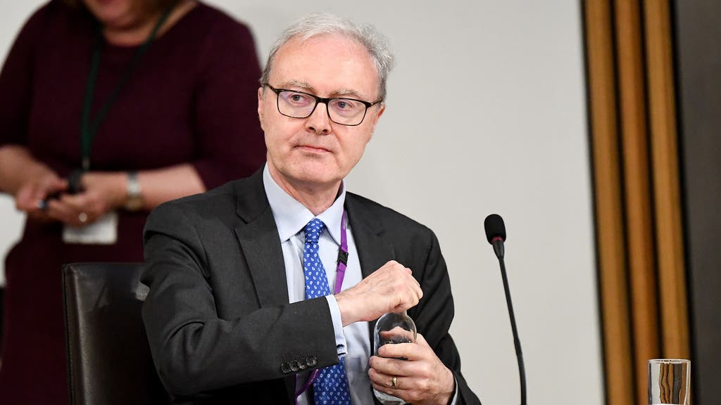 Lord Advocate James Wolffe gave evidence about the Crown Office's intervention in the redacted Alex Salmond evidence and the release of legal advice.