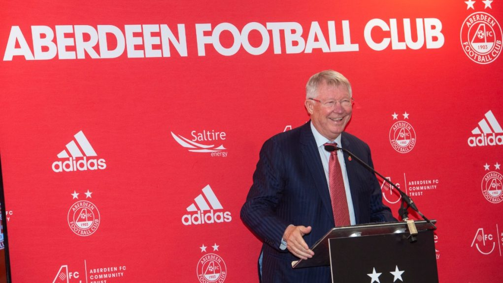 Ferguson: To be honoured with Pittodrie statue.